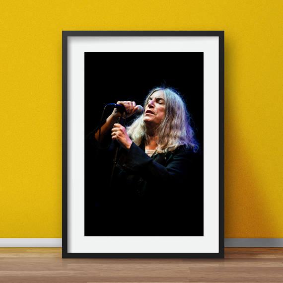 alessandro-bosio-concerto-live-music-patti-smith-color-print-stampa-fotografica-fine-art-cornice