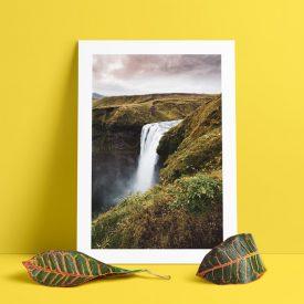 alessandro-bosio-travel-viaggi-reportage-skogafoss-iceland-print-stampa-fotografica-fine-art-cornice